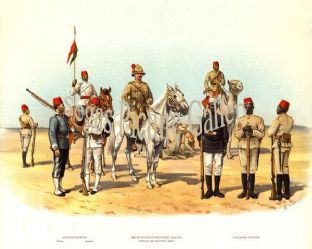 Types of the Egyptian Army
